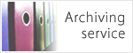 Archiving service